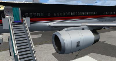 Boeing 757 200 Donald Trump FSX P3D  18