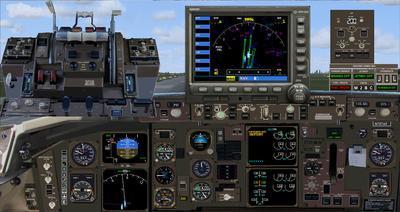 보잉 757 도널드 트럼프 FSX P3D  2