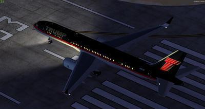 Boeing 757 200 Donald Trump FSX P3D  20