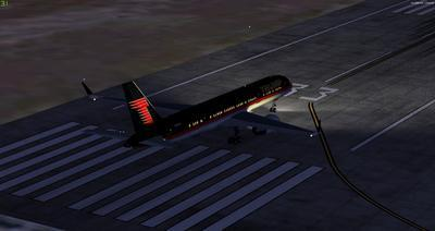 Boeing 757 200 Donald Trump FSX P3D  21