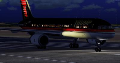 Boeing 757 200 Donald Trump FSX P3D  22