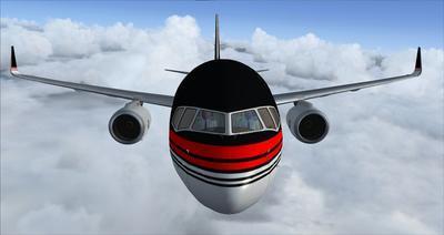 보잉 757 도널드 트럼프 FSX P3D  4
