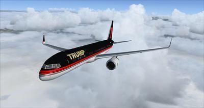 Boeing 757 200 Donald Trump FSX P3D  5