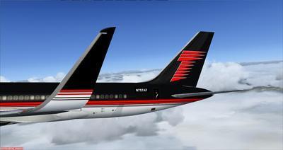 보잉 757 도널드 트럼프 FSX P3D  7
