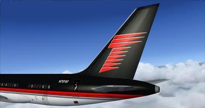 Boeing 757 200 Donald Trump FSX P3D  9