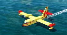Bomber Cl 415 Canadar Super Scooper 4