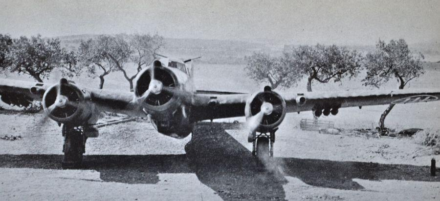 polgar CANT Z.1007 bis Sicilia 1941