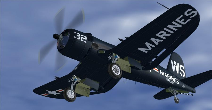 kans Vought f4u-6 en 7 corsair-1