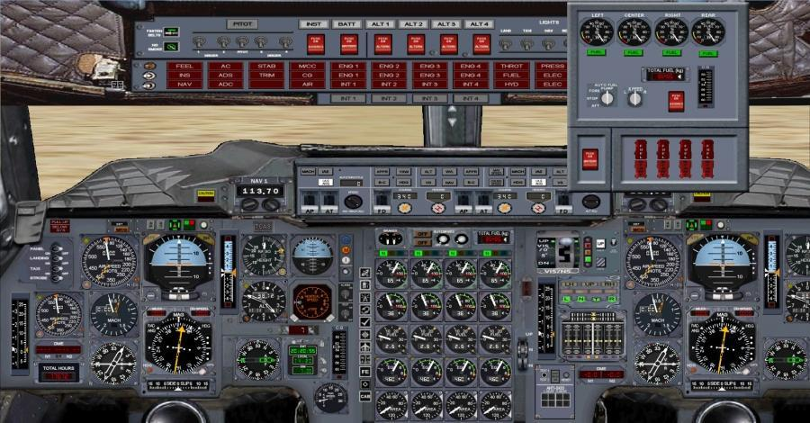 fsx 2d panel ကို Concorde