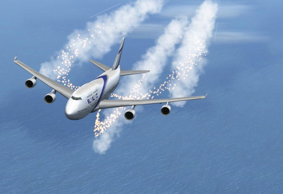 flare 747