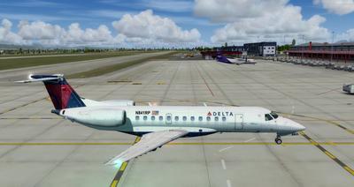 Embraer ERJ 135 daudzkrāsains FSX P3D  1