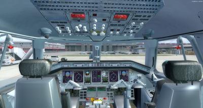Embraer ERJ 135 daudzkrāsains FSX P3D  13