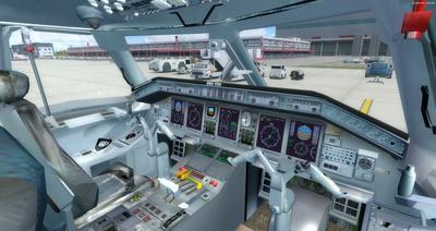 Embraer ERJ 135 daudzkrāsains FSX P3D  14