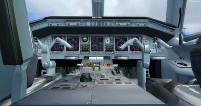 Embraer ERJ 135 daudzkrāsains FSX P3D  17