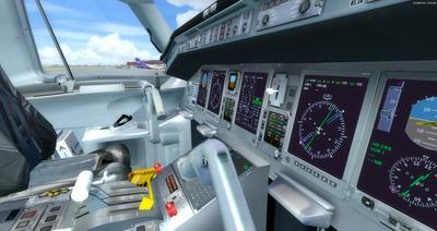 Embraer ERJ 135 daudzkrāsains FSX P3D  18