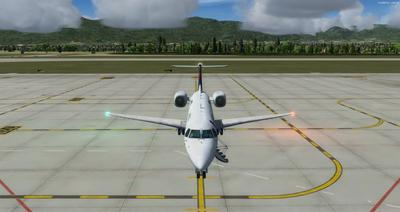 Embraer ERJ 135 daudzkrāsains FSX P3D  2