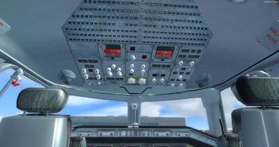 Embraer ERJ 135 daudzkrāsains FSX P3D  20