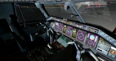 Embraer ERJ 135 daudzkrāsains FSX P3D  22