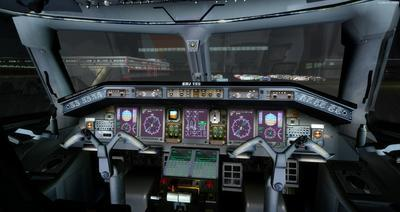 Embraer ERJ 135 daudzkrāsains FSX P3D  24
