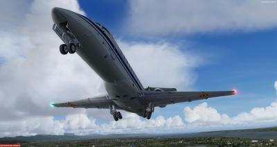 Embraer ERJ 135 daudzkrāsains FSX P3D  27