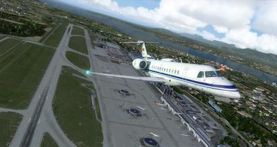 Embraer ERJ 135 Eseese livery FSX P3D  28