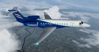 Embraer ERJ 135 daudzkrāsains FSX P3D  29