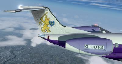 Embraer ERJ 135 daudzkrāsains FSX P3D  31