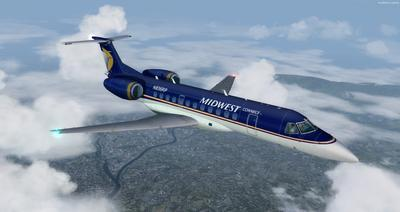 Embraer ERJ 135 Eseese livery FSX P3D  34