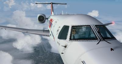 Embraer ERJ 135 daudzkrāsains FSX P3D  37