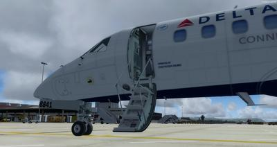 Embraer ERJ 135 Eseese livery FSX P3D  6