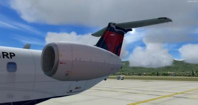 Embraer ERJ 135 Eseese livery FSX P3D  8