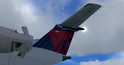 Embraer ERJ 135 daudzkrāsains FSX P3D  9