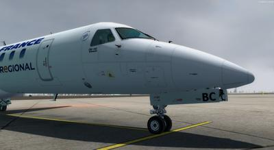 Embraer ERJ 145 Ntau livery FSX P3D  1