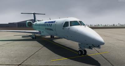 Embraer ERJ 145 Ntau livery FSX P3D  10