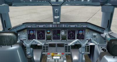 Embraer ERJ 145 Ntau livery FSX P3D  11