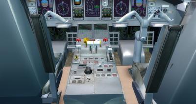 Embraer ERJ 145 Ntau livery FSX P3D  16