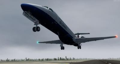 Embraer ERJ 145 Ntau livery FSX P3D  19
