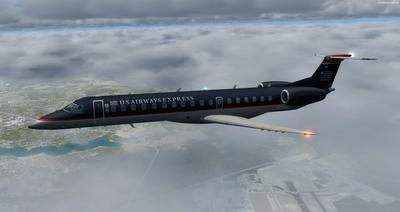 Embraer ERJ 145 Ntau livery FSX P3D  22