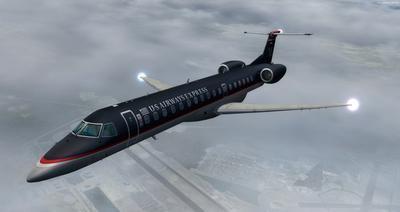 Embraer ERJ 145 Ntau livery FSX P3D  23