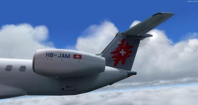 Embraer ERJ 145 Ntau livery FSX P3D  25