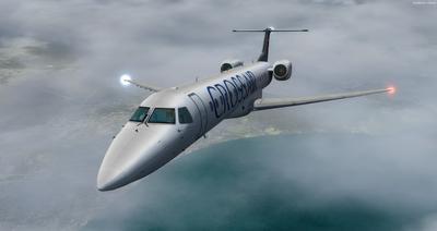 Embraer ERJ 145 Ntau livery FSX P3D  28
