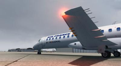 Embraer ERJ 145 Ntau livery FSX P3D  3