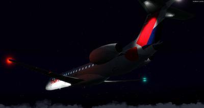 Embraer ERJ 145 Ntau livery FSX P3D  32