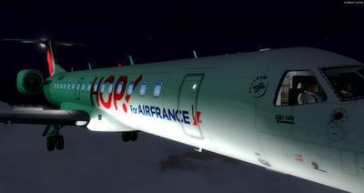 Embraer ERJ 145 Ntau livery FSX P3D  34