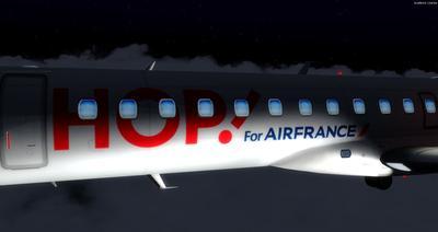 Embraer ERJ 145 Ntau livery FSX P3D  35