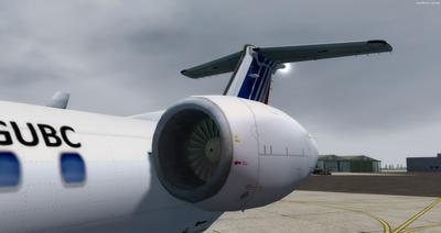 Embraer ERJ 145 Ntau livery FSX P3D  5