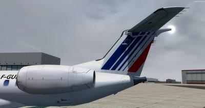 Embraer ERJ 145 Ntau livery FSX P3D  6