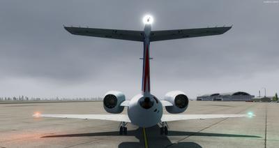 Embraer ERJ 145 Ntau livery FSX P3D  7