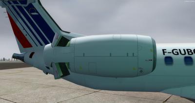 Embraer ERJ 145 Ntau livery FSX P3D  8