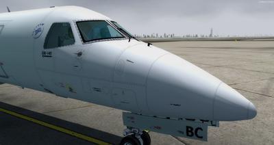 Embraer ERJ 145 Ntau livery FSX P3D  9